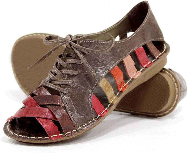 Women Sandals Fashion PU Sandals Summer shoes Female Flat Sandals Rome Style Soild Sandals
