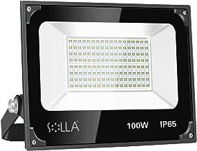 100W LED Flood Light Outdoor, Super Bright Work Light, 8000lm, IP65 Waterproof Exterior Lights, 6000K Daylight, Indoor Out...