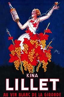 Kina Lillet - Vintage Advertisement (9x12 Fine Art Print, Home Wall Decor Artwork Poster)