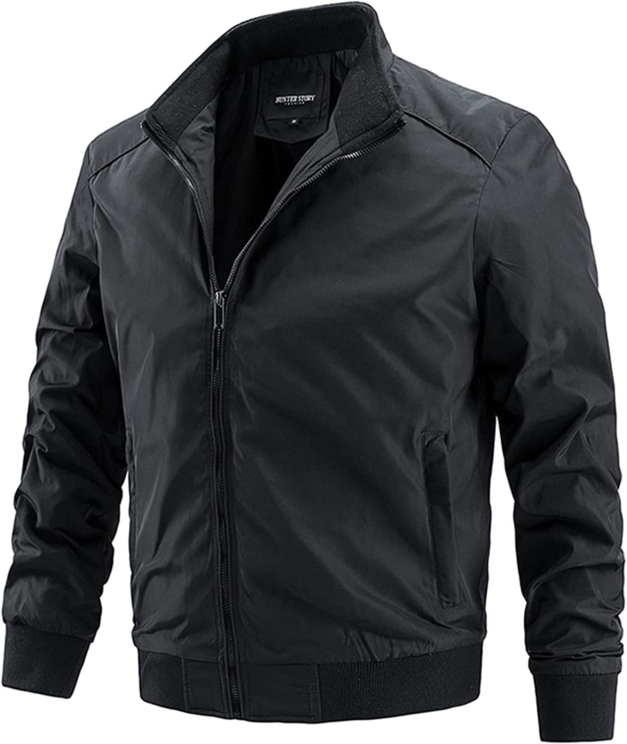 Men's Thin Jackets,Windproof Casual Jacket Outwear,Fashion Simple and Versatile