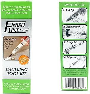 Finish Line Caulk Tool Precision Caulking System Starter Set