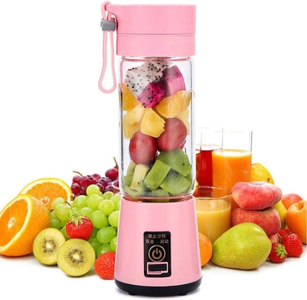 Glove Taille Portable USB Presse-Fruits électrique à Main Smoothie Maker mélangeur en remuant Rechargeable Mini Portable jus Tasse Eau Pink