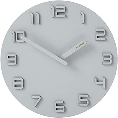 JLRQY Quartz Wall Clock,Silent Sweep Vintage Art Clock 12Inches MDF Materials For Living Room