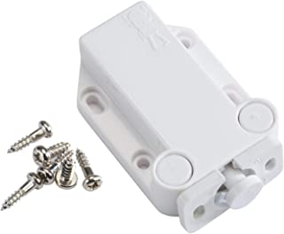 Sugatsune LAMP Non-Magnetic Touch Latch Safe Push Latch White