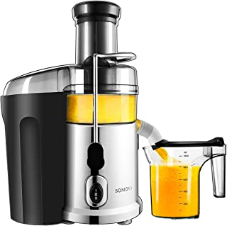 Juice Machine SOMOYA 2019 Juice Extractor 700W High Speed Stainless Steel Centrifugal Juicer Easy Clean Juicer Fresh Vegetables and Fruits Juicer