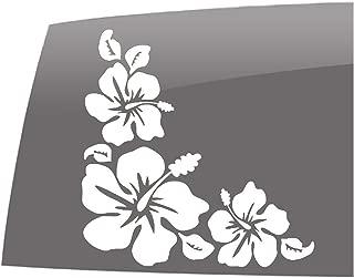 hawaiian flower car decals