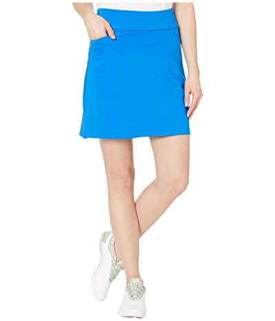 adidas Golf Solid Knit Skort (Glory Blue) Women