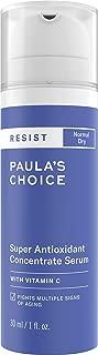 Paula's Choice RESIST Super Antioxidant Serum with Vitamin C, Ferulic Acid & Coenzyme Q10, Anti-Aging Treatment for Dry Skin, 1 Ounce