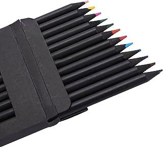 12Pcs Colored Pencils Drawing Pencils Set Watercolor Pencils Multi Colored Art Sketching Paint Pens for Adult Kid Coloring...