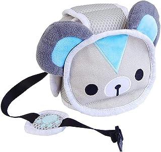赤ちゃん あたま ガード 室内用 ヘルメット メッシュ スポンジヘルメット ヘッドガード ベビー 乳幼児 安全 ヘルメット 可愛い帽子 頭部保護 転倒 怪我防止 多機能保護 出産祝いに最適 適用年齢(6ヶ月から6歳)
