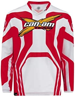 CAN-AM Mens X Race Jersey MX Offroad ATV RED XL - Extra Large