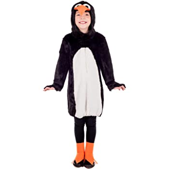 Fun Shack Negro Pingüino Disfraz para Niños y Niñas - S: Amazon.es ...