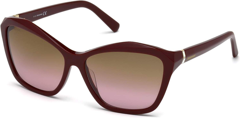Swarovski Women's SK0135 Cateye Sunglasses