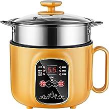 Rijstkoker (1,6L) Huishoudelijke Multifunctionele All-in-One Rijstkoker/Koekenpan/Wok/Soeppot, niet-Stick Inner Pot, voor ...