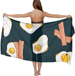 Fashion Chiffon Shawl Vacasion Party Swimwear Scarf Sexy Wrap, Summer Shawl