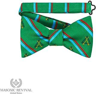 Knight Mason Bow Tie by Masonic Revival (Pre-Tied)