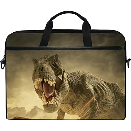 Dinosaurs Dino Rex 13//15 Inch Laptop Sleeve Bag for MacBook Air 11 13 15 Pro 13.3 15.4 Portable Zipper Laptop Bag Tablet Bag,Water Resistant,Black