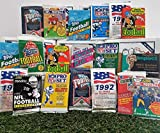 cardinals football cards - Over 200 Vintage Football cards in 20 Vintage Unopened football Wax Packs from various vintage brands. Guaranteed one AUTOGRAPH or MEMORABILIA card per box! Great for 1st time collectors!