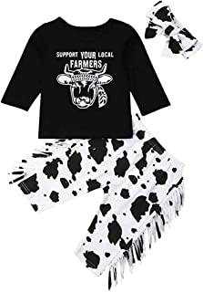 Best baby girl cow outfit Reviews