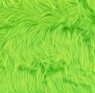 Shannon Faux Fur Luxury Shag Lime