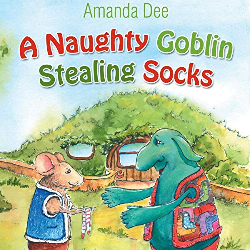 A Naughty Goblin Stealing Socks  By  cover art