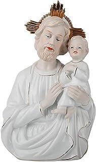 FGDSA Virgen Jesús María Iglesia Estatua de la Familia, Ceremonia de cerámica Adorno Decoración Cristianos Regalos religio...