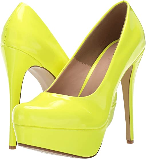 Neon Yellow Patent