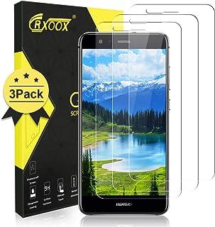 CRXOOX [3 Unidades Protector de Pantalla Cristal Templado para Huawei P10 Lite,Anti-Arañazos Sin Burbujas Cristal Templado Protector Pantalla 9H Dureza Vidrio Templado para Huawei P10 Lite