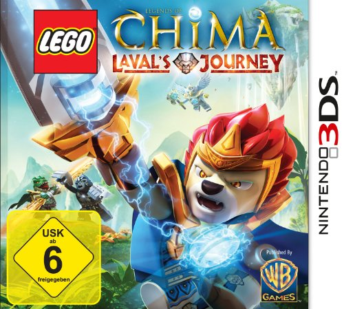 Lego Legends of Chima : Laval's Journey [import allemand]