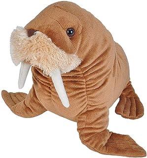 "Wild Republic Walrus, Stuffed Animal, Plush Toy, Gifts for Kids, Cuddlekins, 12"""