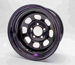 Bart Wheels 537-57122 15X7 5X4.5 2IN BS BLACK