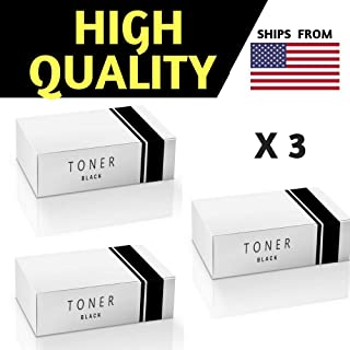 Best Compatible Cartridge for Canon 104/FX-9/FX-10 New Black Toner Cartridge - 3 PER Pack Combo -,for FaxPhone L120,FaxPhone L90,ImageClass D420,ImageClass D480