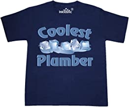 inktastic Coolest Plumber Youth T-Shirt