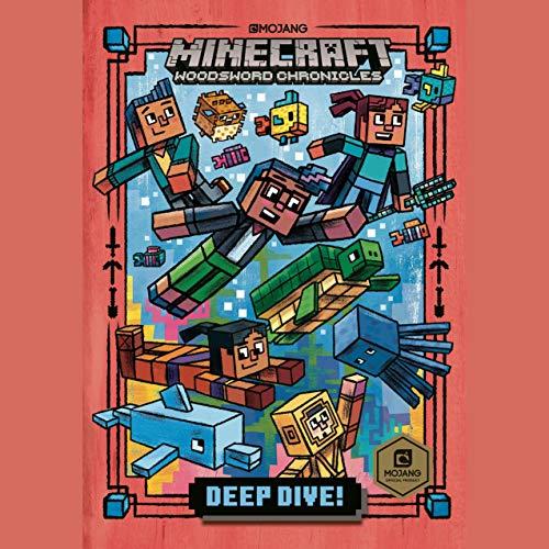 Page de couverture de Deep Dive!: Minecraft Woodsword Chronicles #3