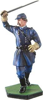 danila-souvenirs Tin Toy Soldier USA Civil war Northerners General Joshua L. Chamberlain Hand Painted Metal Sculpture Miniature Figurine 54mm #CW21