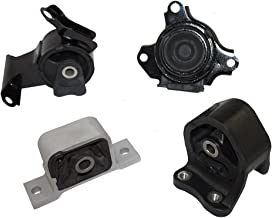 Engine & Transmission Motor Mounts Kit 4 Piece Set Replacement for 02-06 Honda CR-V 2.4L Automatic Transmission 50810-S7D-003
