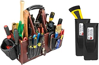 Occidental Leather 5588 Stronghold Master Carpenter Case Bundle w/ (2) Pack 2003 Oxy Tool Shield (3 Pieces)