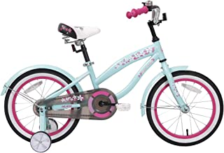 HILAND 14,16 Inch Kids Bike Bicycle with Training Wheels,Kid's Beach Crusier Bike, Multiple Colors