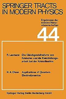 Springer Tracts in Modern Physics: Ergebnisse Der Exakten Naturwissenschaften Volume 44