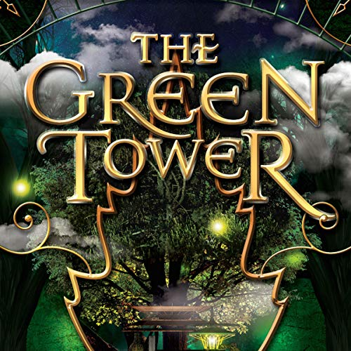 The Green Tower audiobook cover art