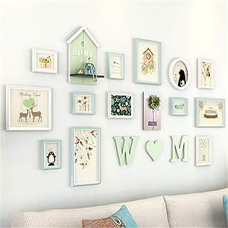 Ouqian Marco del Collage Minimalista Moderno Photo decoración de la Pared de la Sala Dormitorio Photo Frame Pared del álbu...