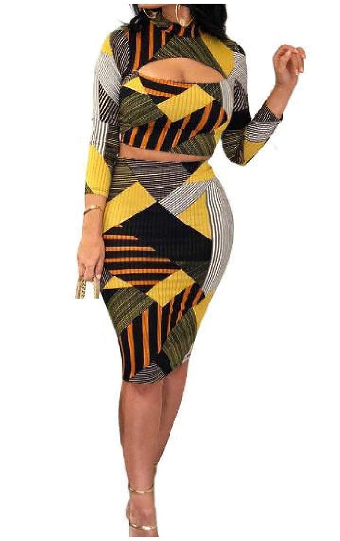Beeatree 女性は色幾何学的なシルムフィット