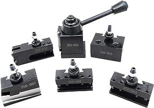 WDGNY Herramientas 1 juego de herramientas de acero para soporte universal de cuchilla de separación para torno de taladro