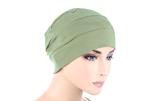 48bb1049200 Chemo Cap Womens Soft Cotton Knit Beanie Sleep Turban Hat Headwear for  Cancer