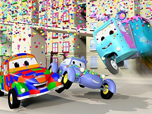 Katie das Kitcar bei der Parade! / Marley der Monstertruck zeigt den kleinen Autos was er drauf hat !