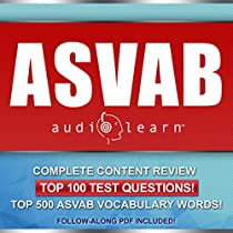 ASVAB AudioLearn - Complete Audio Review for the Armed Services Vocational  Aptitude Battery