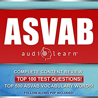 ASVAB AudioLearn - Complete Audio Review for the Armed Services Vocational Aptitude Battery                   By:                                                                                                                                 AudioLearn Content Team                               Narrated by:                                                                                                                                 Lon Harris                      Length: 10 hrs and 42 mins     11 ratings     Overall 4.5