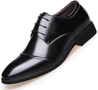 Acampada y senderismo LOVDRAM Zapatos De Cuero Para Hombre Zapatos De Cuero De Los Hombres Oficina Vestido De Traje De Hombre Zapatos De Estilo Italiano Boda Zapatos Casuales Punta Estrecha Zapatos De Hombre De Negocios 6.