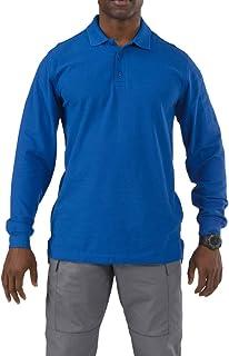 5.11 Men's Men's Utility Long Sleeve Polo Shirt Henley Shirt