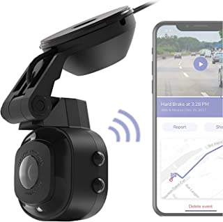 SCOSCHE NEXC11032-SP1 Full HD Smart Dash Cam Powered by Nexar with Suction Cup Mount and 32GB Micro-SD Card